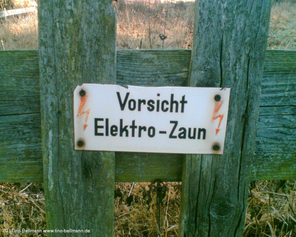 Dieser hochgefährliche Elektro-Zaun macht mir Angst