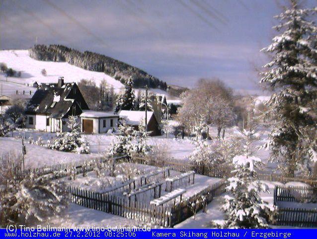Ein Foto meiner Webcam vom 27.2.2012