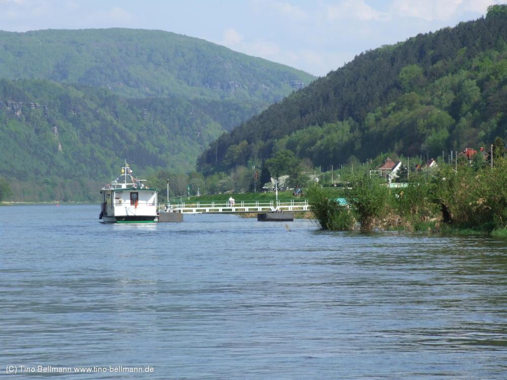 Fährenfahrt am 1. Mai 2012 bei Traumwetter