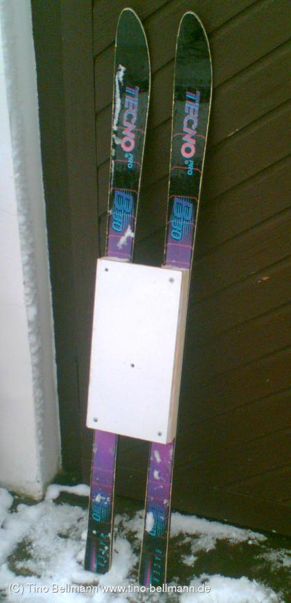 Mein Kameraschlitten - für authentische Kameraufnahmen im Schnee