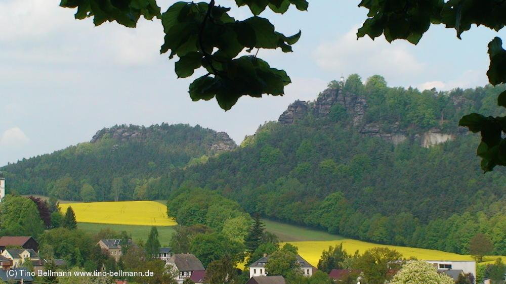 Gohrisch und Papststein - Sächsische Schweiz