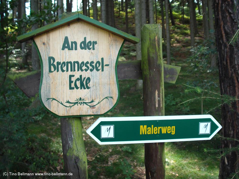 Brennesselecke bei Papstdorf