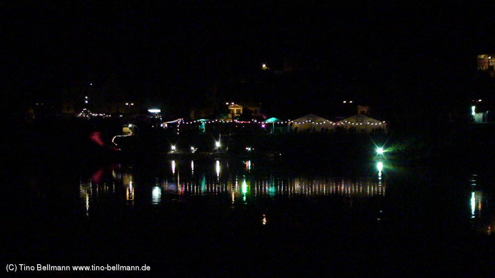 Postelwitzer Sommerfest bei Nacht