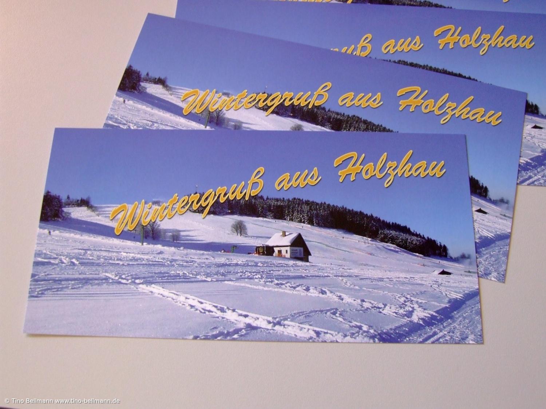 Die neuen Ansichtskarten Wintergruß aus Holzhau
